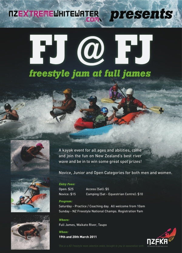 Freestyle Jam at Full James 2011 - Poster